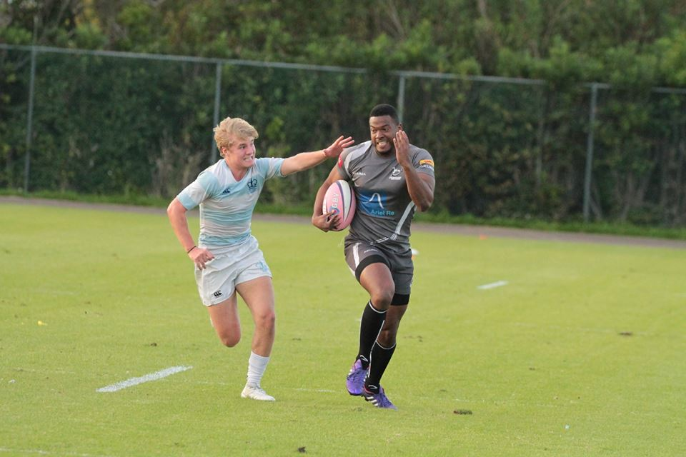 Photo: Neville Zuill, Columbia vs Bermuda All Stars