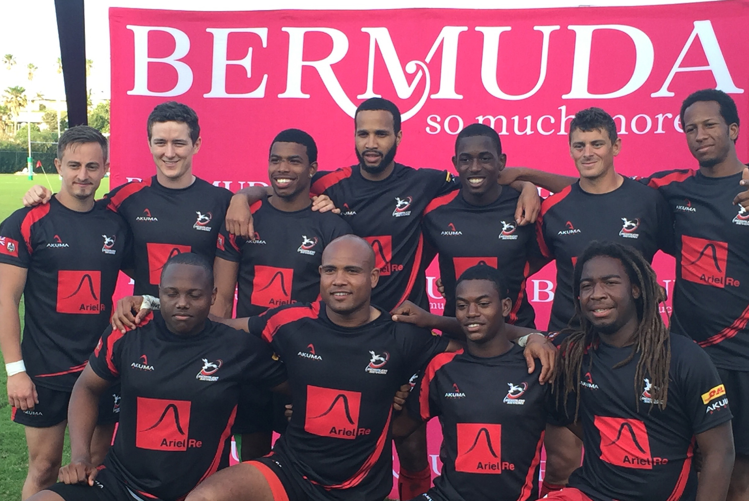 Bermuda All Star 7s team - the OAPs