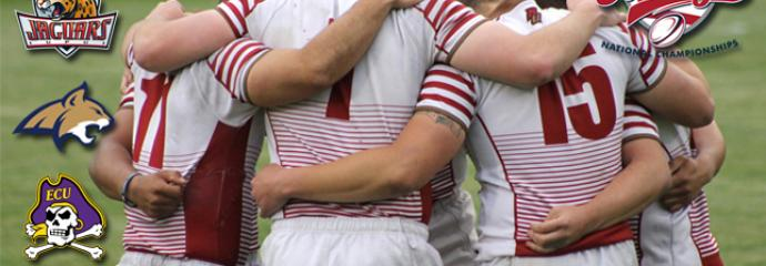 Norwich University men's rugby lead the pack at College 7s National Championship