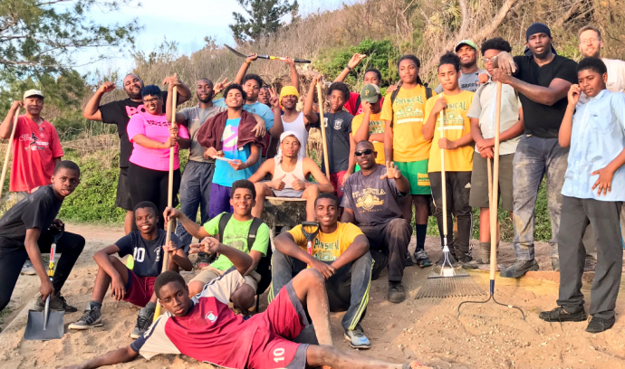 Beyond Rugby Gives Back To Bermuda