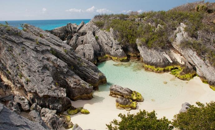 Jobson's Cove in Bermuda